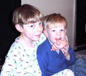 Graham and John, many moons ago.