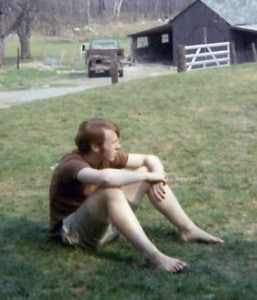 Jim at School at Kirkridge 1970 - cropped adj