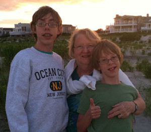 Graham, John, and grandmother more recently. I could use a beach right now.