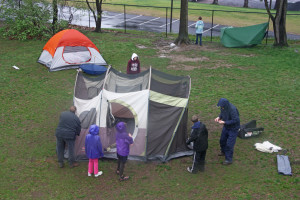 Camping in the Schoolyard