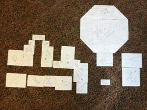 """A """"paper doll"""" room exercise by the BDC."""